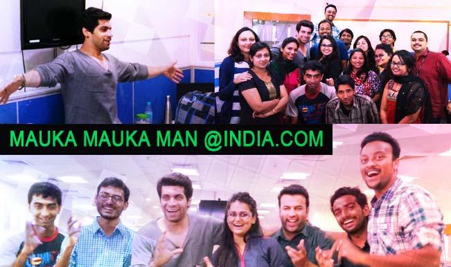 Meet the Mauka Mauka Man, or Pakistani fan from Star Sports cricket commercial: Vishal Malhotra!