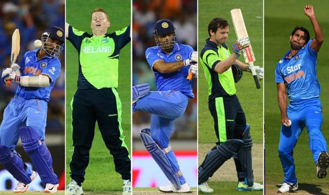 India vs Ireland, 2015 Cricket World Cup Group B, Match 34: 5 Key Players to watch out for in IND vs IRE