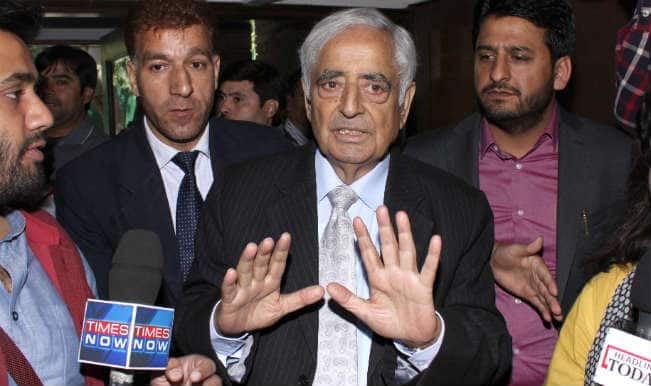 PDP-BJP alliance: Mufti Muhammad Sayeed faces a balancing act