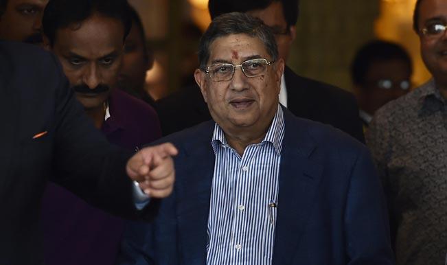N Srinivasan defends 10-team format for World Cup 2019