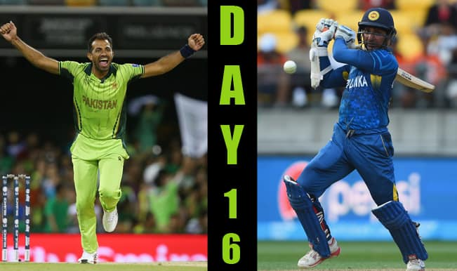 2015 Cricket World Cup Day 16: Highlights, Points Table and Schedule for upcoming matches of WC 2015