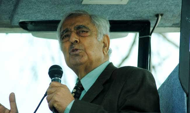 Congress: Mufti Sayeed plays footsie with Pakistan, Narendra Modi watches haplessly