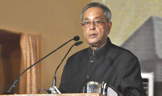 President Pranab Mukherjee: Next breakthrough to come from micro venture innovation finance
