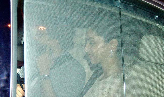 Ranveer Singh and Deepika Padukone not secretive about their relationship anymore?