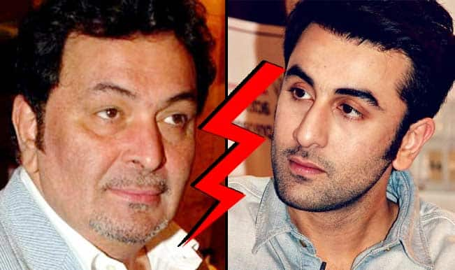 Shocking! Rishi Kapoor reveals differences with Ranbir Kapoor; Senior Kapoor regrets not being friends with son!