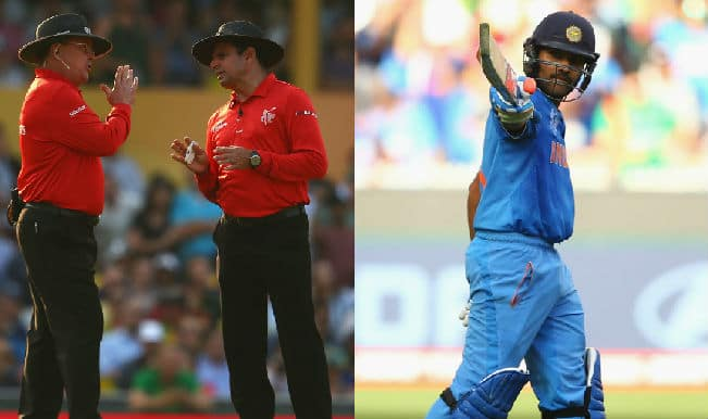 Rohit Sharma should thank umpires Aleem Dar & Ian Gould for century as Bangladeshi fans cry foul!