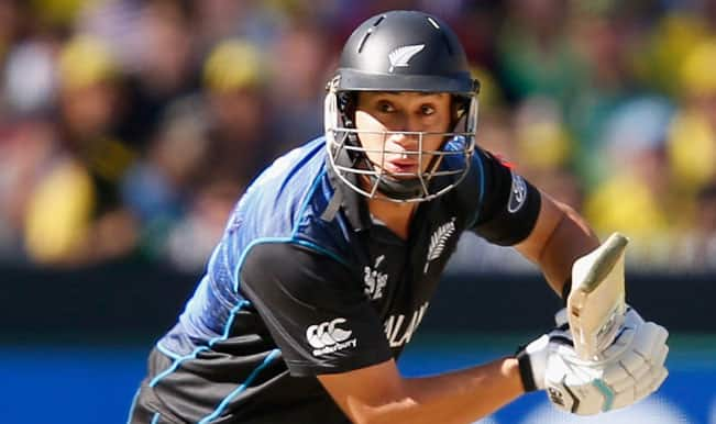Ross Taylor OUT! Australia vs New Zealand ICC Cricket World Cup 2015 — Watch Video Highlights fall of wicket here