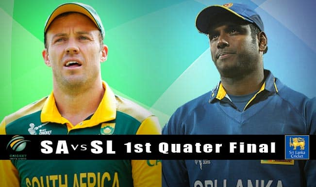 South Africa vs Sri Lanka, ICC Cricket World Cup 2015 1st Quarterfinal Preview: No favourites in SA vs SL clash