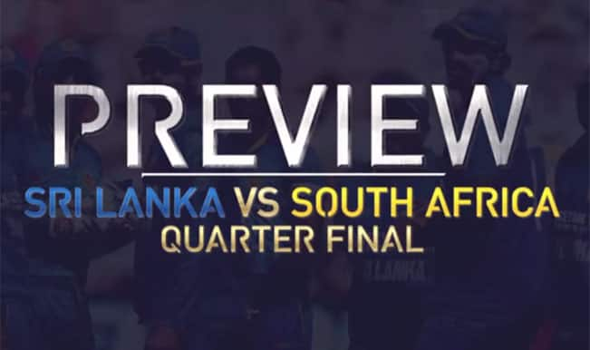 South Africa vs Sri Lanka, 1st Quarterfinal 2015 Cricket World Cup Video Preview on Star Sports