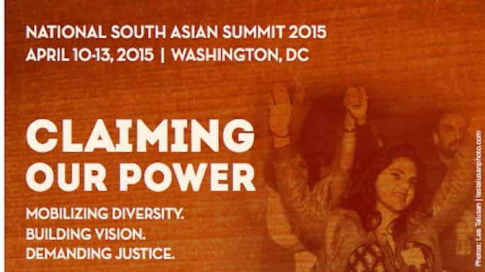 SAALT's National South Asian Summit 2015 Aims to 'Claim Power' for South Asian Diaspora