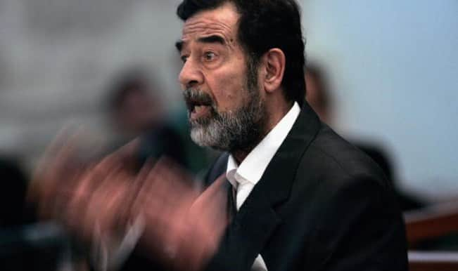Saddam Hussein's tomb destroyed amid fierce clashes between Iraqi troops and IS in Tikrit