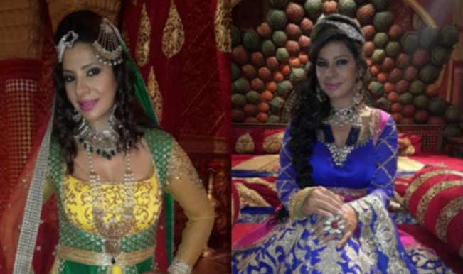 OMG! Sambhavna Seth injured on the sets of Razia Sultan