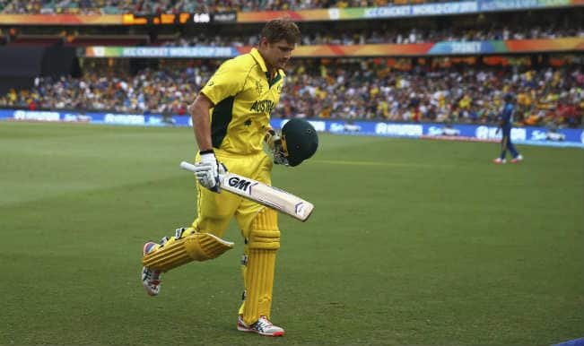 Shane Watson OUT! Australia vs Sri Lanka, ICC Cricket World Cup 2015 – Watch Full Video Highlights of Fall of Wicket