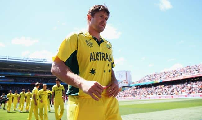 ICC Cricket World Cup 2015: Shane Watson vows to bounce back after Afghanistan snub