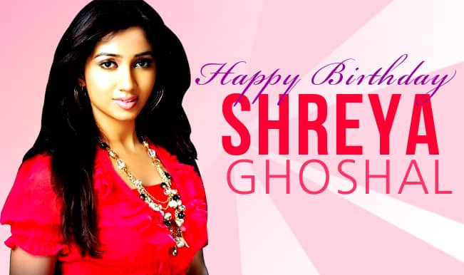 Shreya Ghoshal birthday special: Top magical songs of the singing sensation (Jukebox)