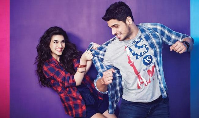 Sidharth Malhotra and Kriti Sanon make for a lovely pair for AsIAm: Watch video