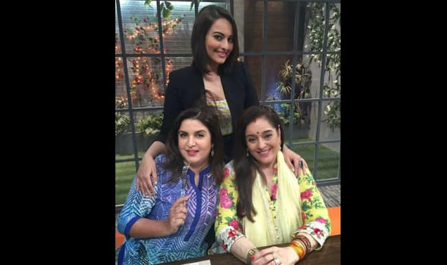 Farah Ki Daawat: Sonakshi Sinha dons the apron for Farah Khan's cookery show!