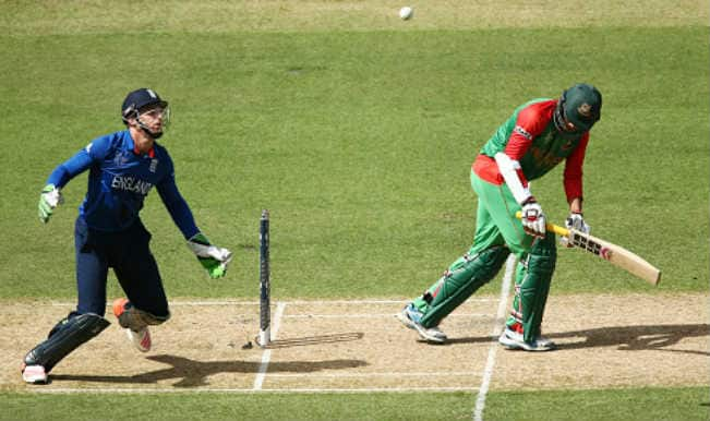 Soumya Sarkar OUT! Bangladesh vs England, ICC Cricket World Cup 2015 – Watch Full Video Highlights of Fall of Wicket