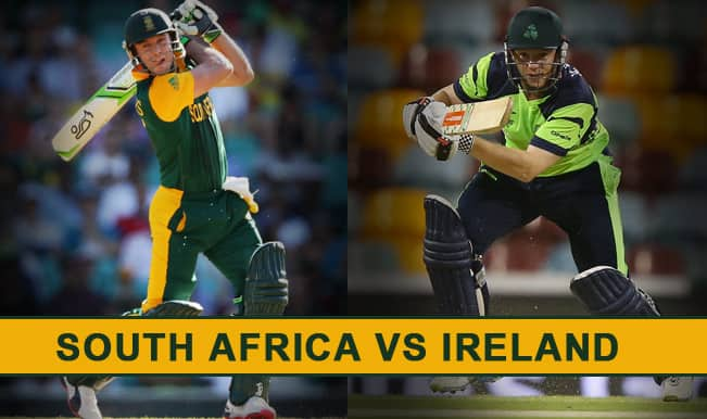South Africa vs Ireland Preview: 'Don't Call Us Minnows, We Are Out To Win The ICC Cricket World Cup 2015′