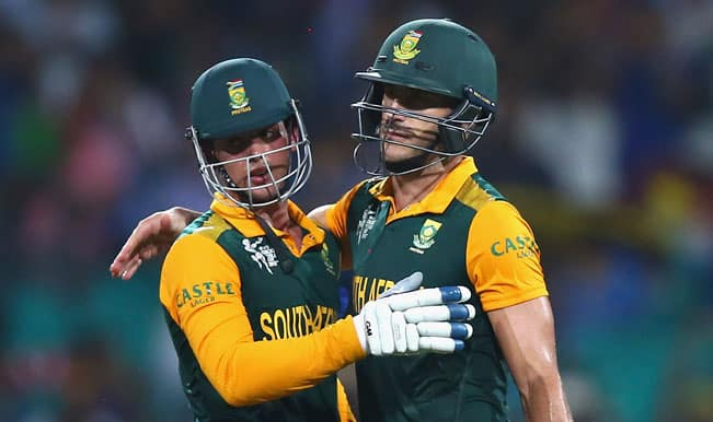 SA win by 9 wickets | Live Cricket Score South Africa vs Sri Lanka Ball by Ball Updates, ICC Cricket World Cup 2015 1st quarterfinal match: SA vs SL in 18 overs