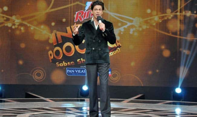 Shah Rukh Khan's TV show India Poochega – Sabse Shaana Kaun?: Interesting show with the Badshah of Bollywood