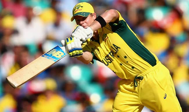 Steve Smith OUT! India vs Australia, ICC Cricket World Cup 2015 Semifinal — Catch Video Highlights of wicket here