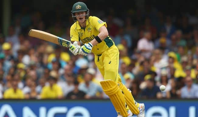 Steve Smith OUT! Pakistan vs Australia, ICC Cricket World Cup 2015 – Watch Full Video Highlights of the wicket