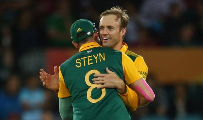 ICC Cricket World Cup 2015: AB de Villiers backs Dale Steyn to turn match-winner for South Africa