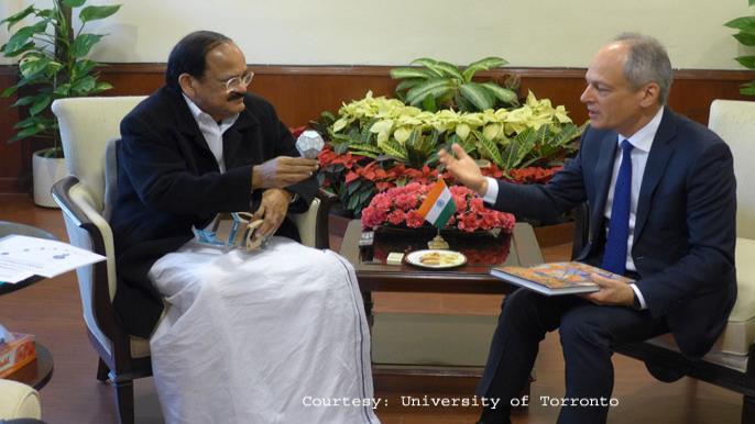 University of Toronto President: Modi's 100 Smart Cities Idea is Breathtaking, Inspiring'