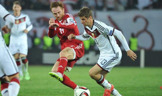 Euro 2016 Qualifiers: Germany see off Georgia, Portugal edge past Serbia