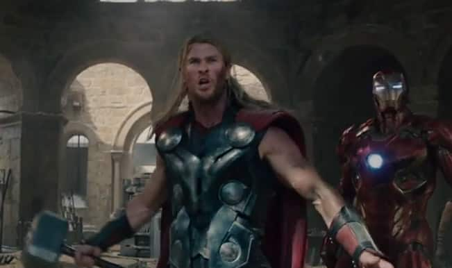 Avengers: Age of Ultron 3rd trailer- Iron Man against Thor, Hulk versus Hulkbuster and Black Widow saves Captain America's shield