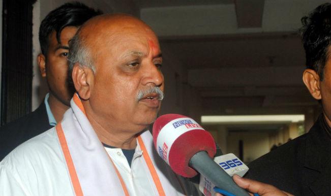 Praveen Togadia banned from entering Udupi for 'Hindu Samajotsava'
