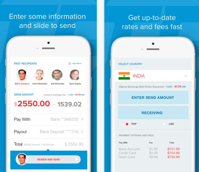 Global Money Transfer Company Launches iOS App