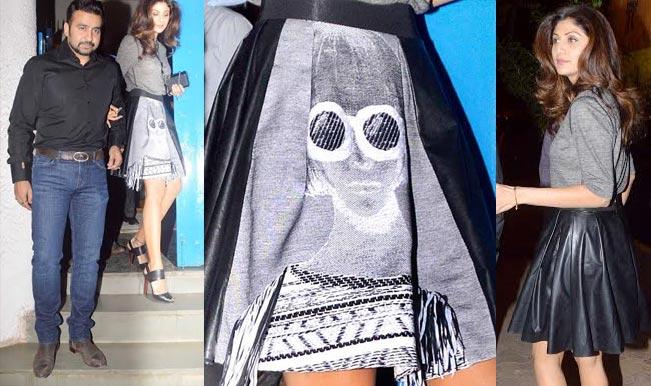 Have you seen Shilpa Shetty Kundra's sexy skirt?