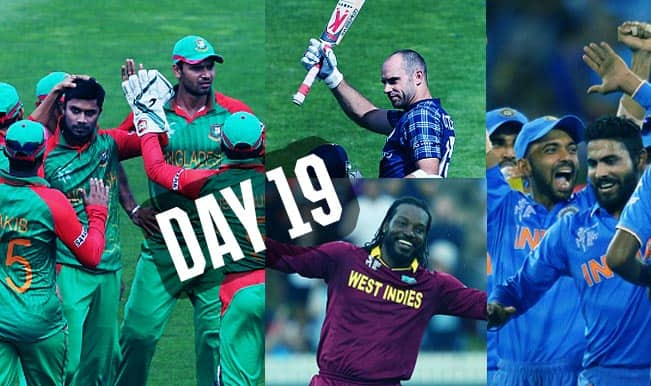 2015 Cricket World Cup Day 19: Highlights, Points Table and Schedule for upcoming matches of WC 2015