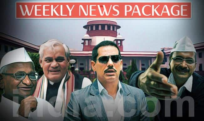 News Weekly Roundup: Arvind Kejriwal's #AAPWar, Land Acquisition Bill, Section 66A among top headlines this week!