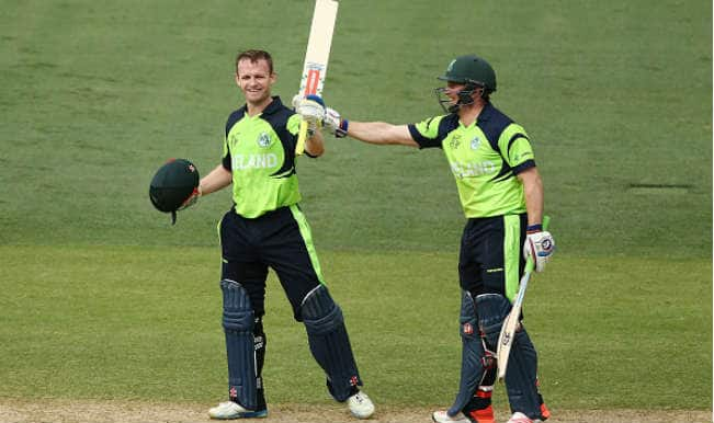 William Porterfield scores 100! Pakistan vs Ireland ICC Cricket World Cup 2015 – Watch Full Video Highlights Irish skipper's hundred