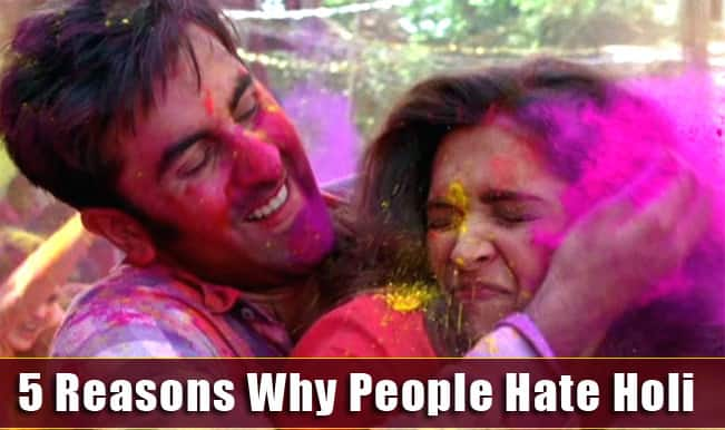 Happy Holi 2015: Hate Holi? 5 reasons why some people don't celebrate this colourful festival