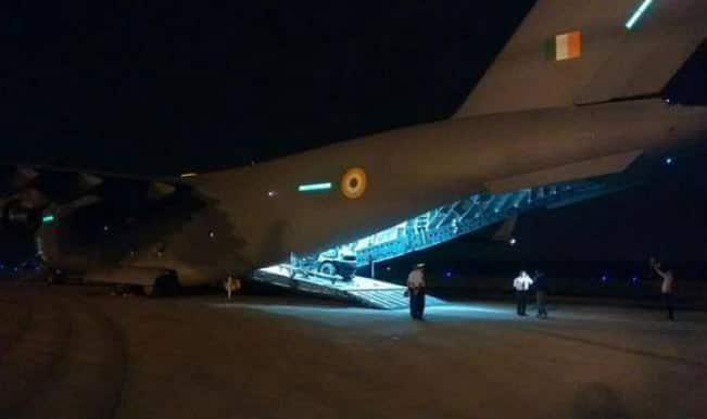 Earthquake in Nepal: Second IAF plane brings back 100 more Indians, 155 evacuated