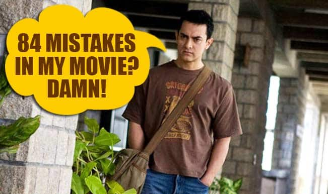 Mr Perfectionist ain't that perfect: Here are 84 mistakes in Aamir Khan's 3 Idiots! (Watch video)
