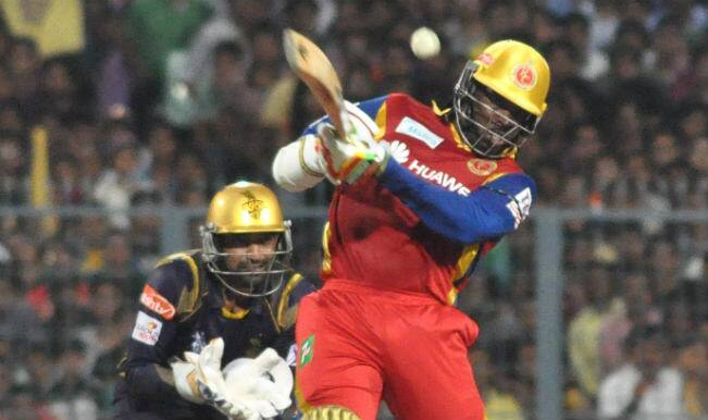 Chris Gayle hands Royal Challengers Bangalore a win against Kolkata Knight Riders