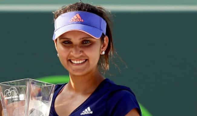 Sania Mirza A Win Away From Becoming World No 1 Doubles Player India Com