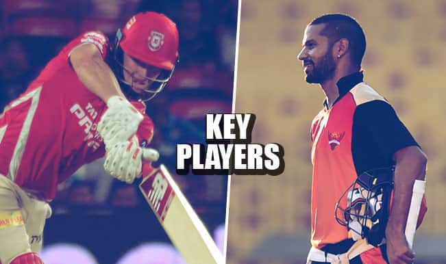 Kings XI Punjab vs Sunrisers Hyderabad, IPL 2015, 27th match: Shaun Marsh, Shikhar Dhawan make the 5 key players list for KXIP vs SRH clash