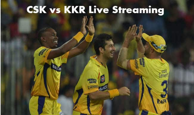 Chennai Super Kings vs Kolkata Knight Riders, IPL 2015: Watch Free Live Streaming and Telecast of CSK vs KKR on Star Sports Online