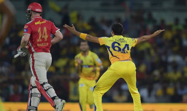 Chennai Super Kings thrash Kings XI Punjab by 97 runs