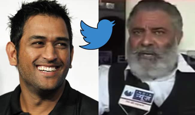 Yograj Singh vents anger against MS Dhoni, gets trolled on Twitter for threatening to SLAP Captain Cool!