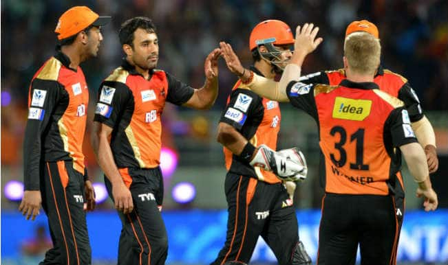 Sunrisers Hyderabad outplay Kolkata Knight Riders in a rain-curtailed match