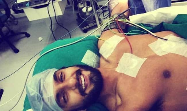 OMG! Ranveer Singh undergoes surgery; tweets from operation theatre