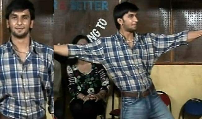 OMG! Ranveer Singh's first day at acting classes: Watch video!