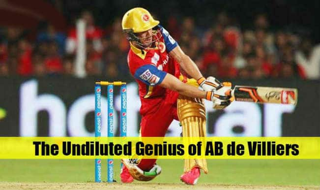 AB de Villiers has reworked the syllabus of batting